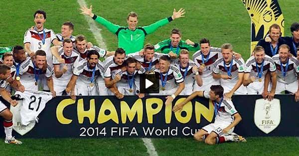 Allemagne - Argentine 1-0
