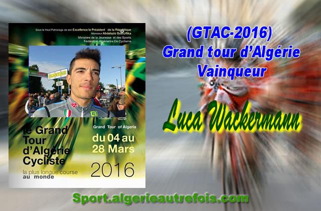 GTAC-2016 - vainqueur Luca Wackermann