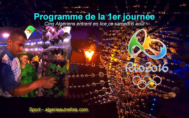 JO-2016: cérémonie d'ouverture et coup d'envoi