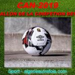 Le ballon officiel de la CAN 2019 dévoilé par la CAF