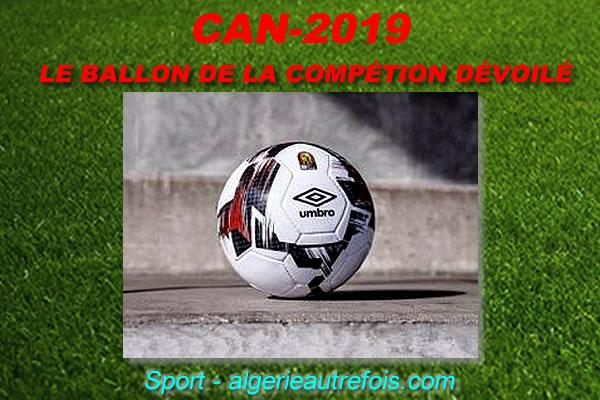 CAN-2019 le ballon de la competition