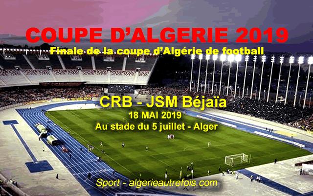 Coupe d'Algérie 2019 - Finale